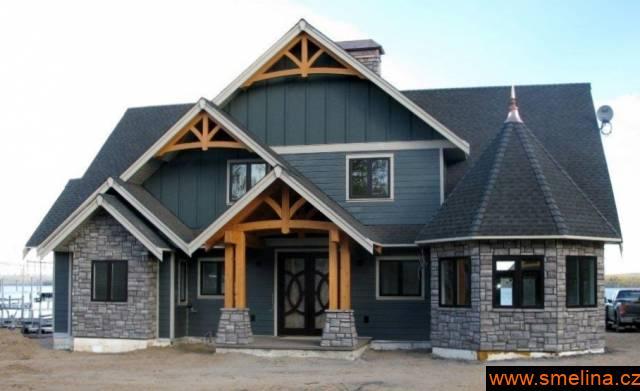 Stavte originální Kanadskou Dřevostavbu