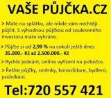 Prověřená online půjčka bez registru celá Čr