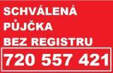 Půjčka bez registru peníze ihned 720557421