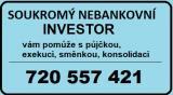 Půjčka ihned bez registru soukromý investor