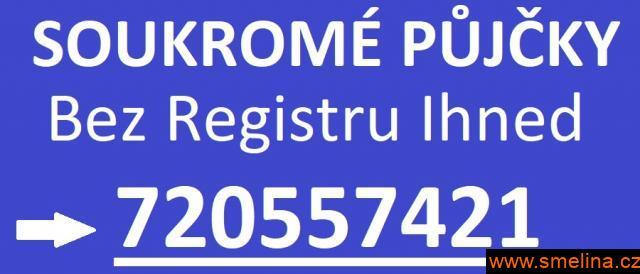 Půjčka od soukromníka bez registru ihned720557421