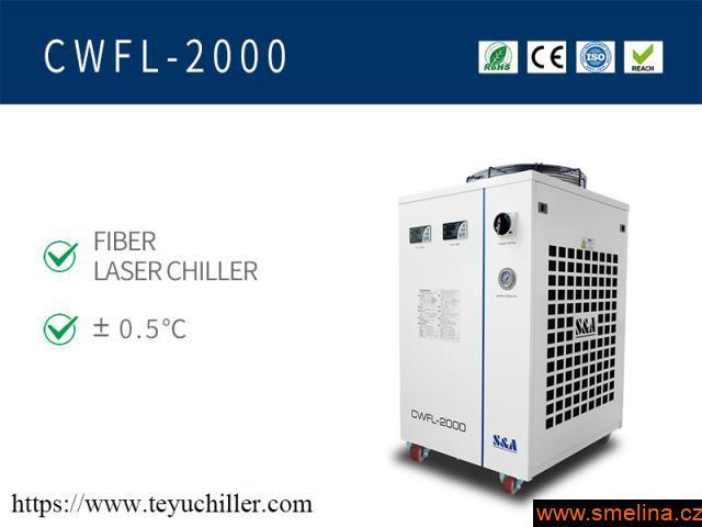 chladič vody pro vláknový laserový svářeč