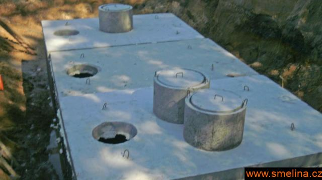 Betonová žumpa , nádrže na vodu , požární nádrže