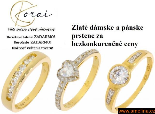 Zlaté prstene od Korai